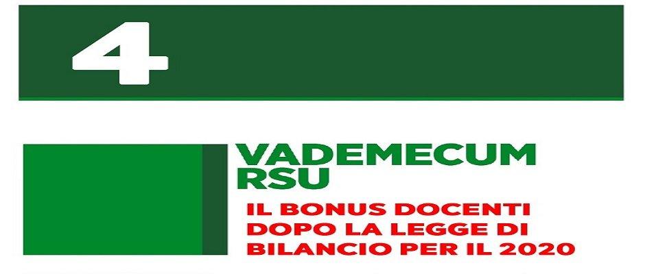 Gestione contrattuale delle risorse per il bonus docenti, si apra subito un tavolo negoziale al Ministero dell'Istruzione