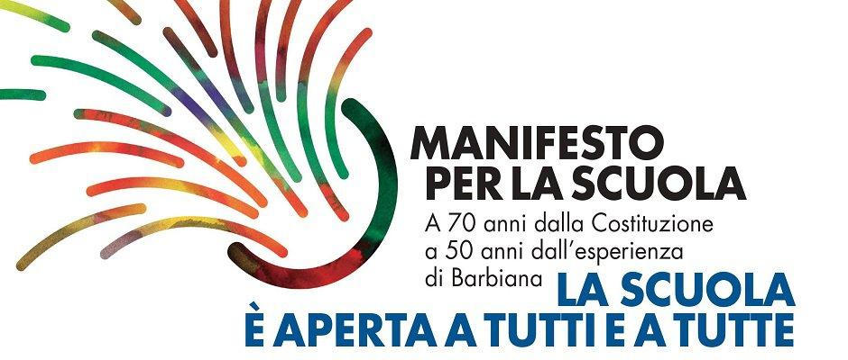 Sottoscrivi  il Manifesto