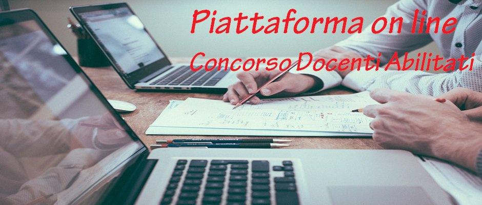 CORSO ON LINE IN PREPARAZIONE ALLA PROVA ORALE CONCORSO RISERVATO AI DOCENTI ABILITATI: la piattaforma è disponibile